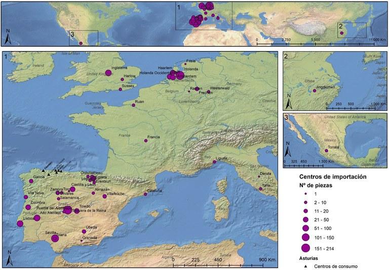 Asturias abierta al mar. El comercio de cerámica importada durante la Edad Moderna en Asturias
