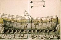 Construcción naval en la cornisa cantábrica en la Edad Moderna: barcos y astilleros