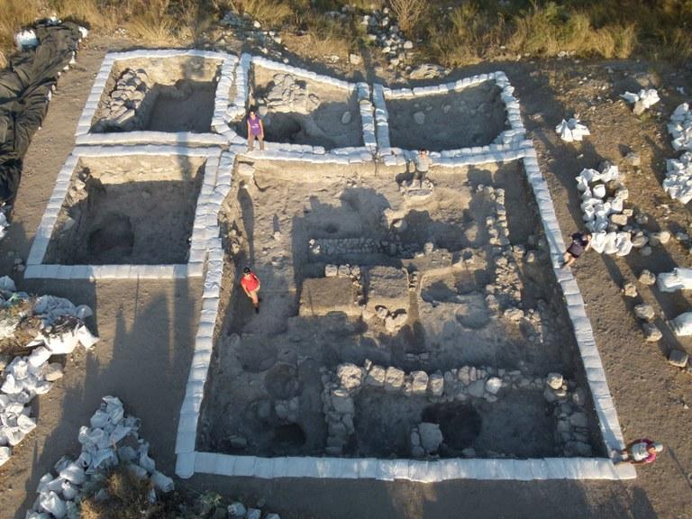 Los fenicios de la entrada a la llanura de Esdrelón en Israel