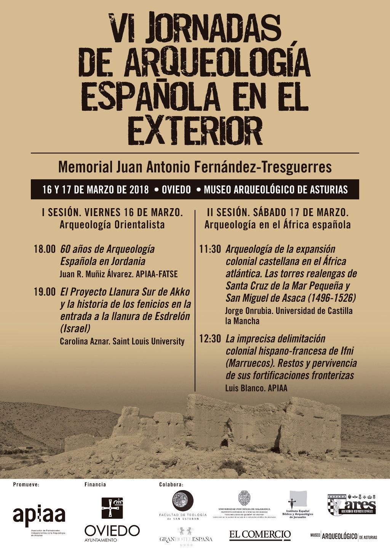 VI Jornadas de Arqueología española en el exterior