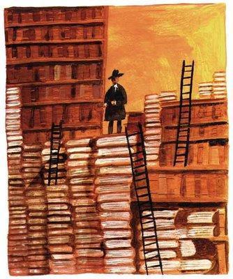 Biblioteca desordenada_Misia Pepa_la biblioteca de la 27 del 5