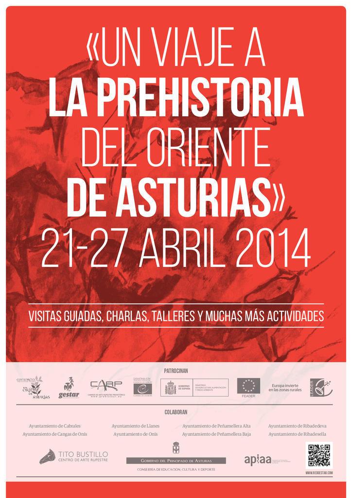 Un viaje a la Prehistoria del Oriente de Asturias_Cartel