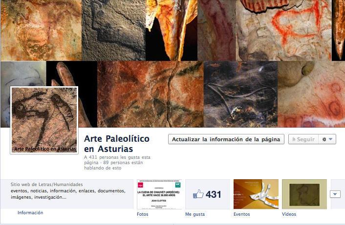 Arte Paleolítico en Asturias_Facebook