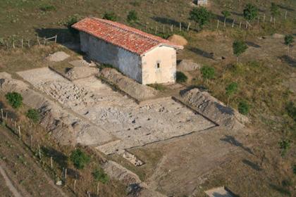 Ejemplo de investigacion arqueologica de un poblado altomedieval