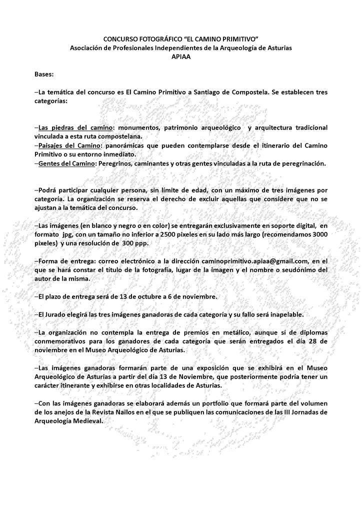 APIAA_Concurso fotográfico_2015_Camino Primitivo