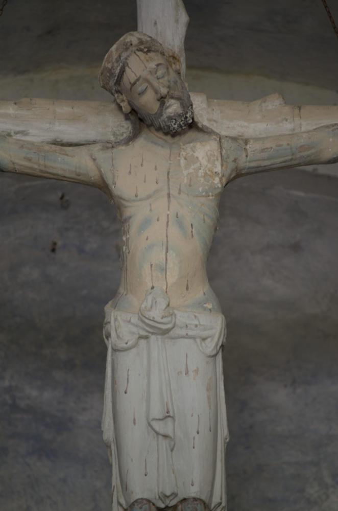 Cristo de la Iglesia de Santa María la Real de Obona